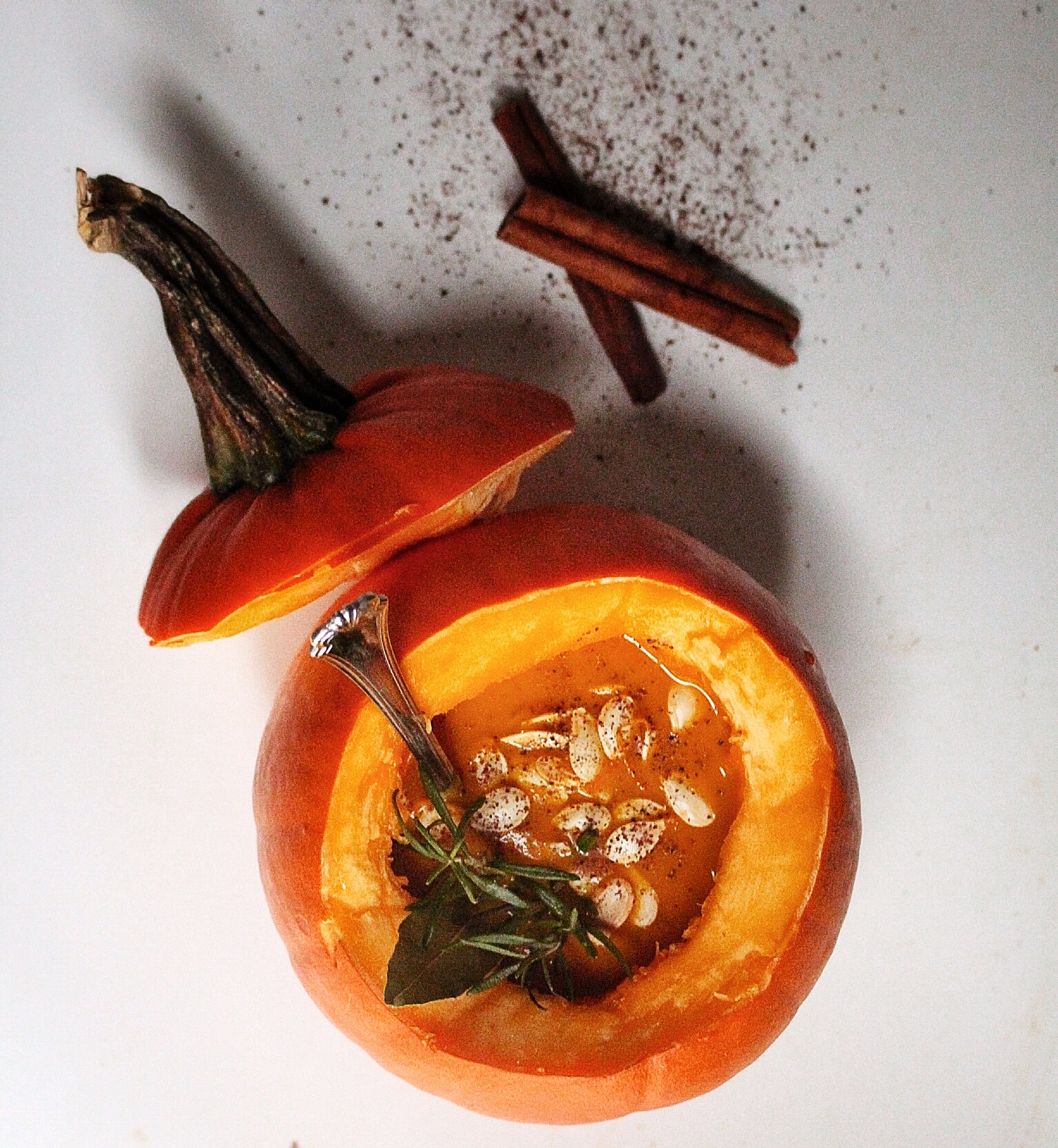 cucina di molly: ginger apple + carrot + spiced pumpkin soup ...
